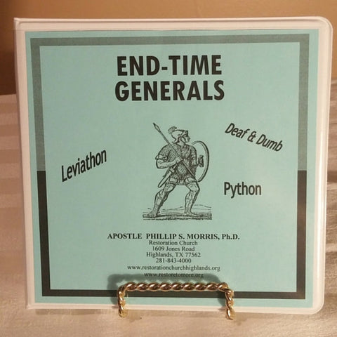 End Time Generals - 5 CD Set