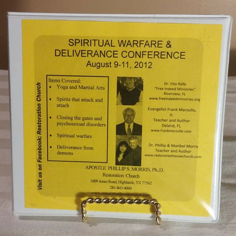 Spiritual Warfare & Deliverance Conference (August 9-11, 2012) - CD Set