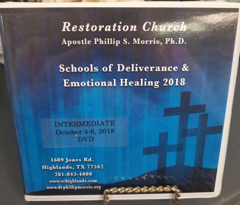 Schools of Deliverance & Emotional Healing  2018 - Intermediate - DVD