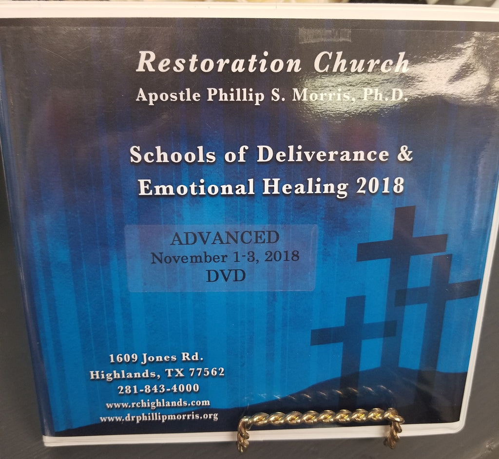 School of Deliverance & Emotional Healing - Advanced  2018 - DVD Set