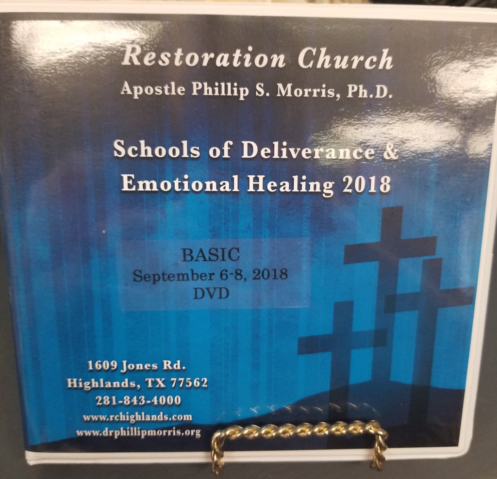School of Deliverance & Emotional Healing - Basic 2018 - DVD