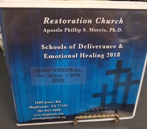 Schools of Deliverance & Emotional Healing  2018 - Mind Renewal - DVD