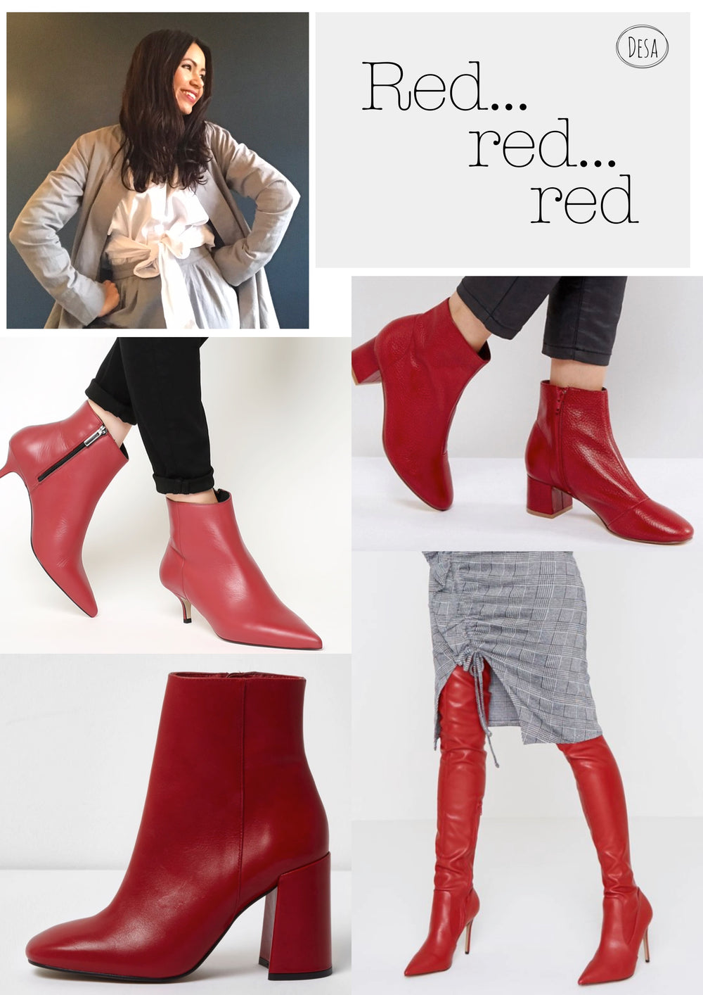These (red) boots are made for walkin'...