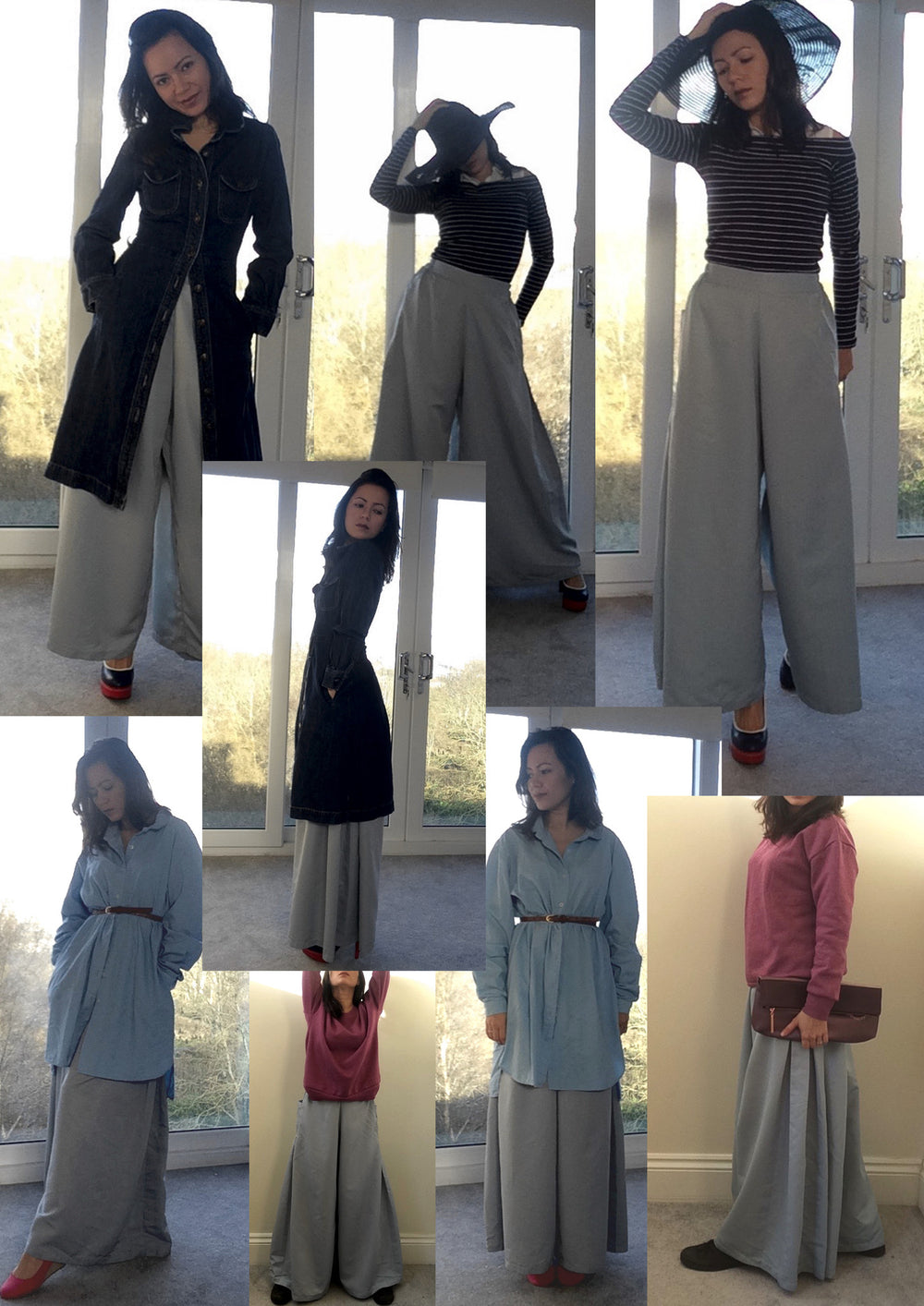 One item challenge - Zakia culottes