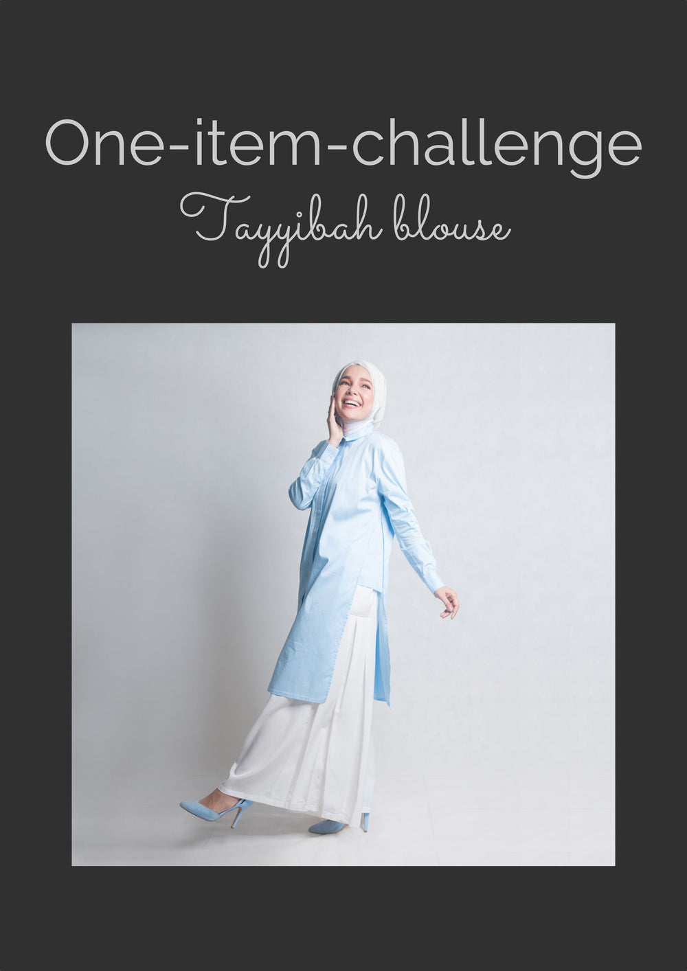 One item challenge - Tayyibah blouse