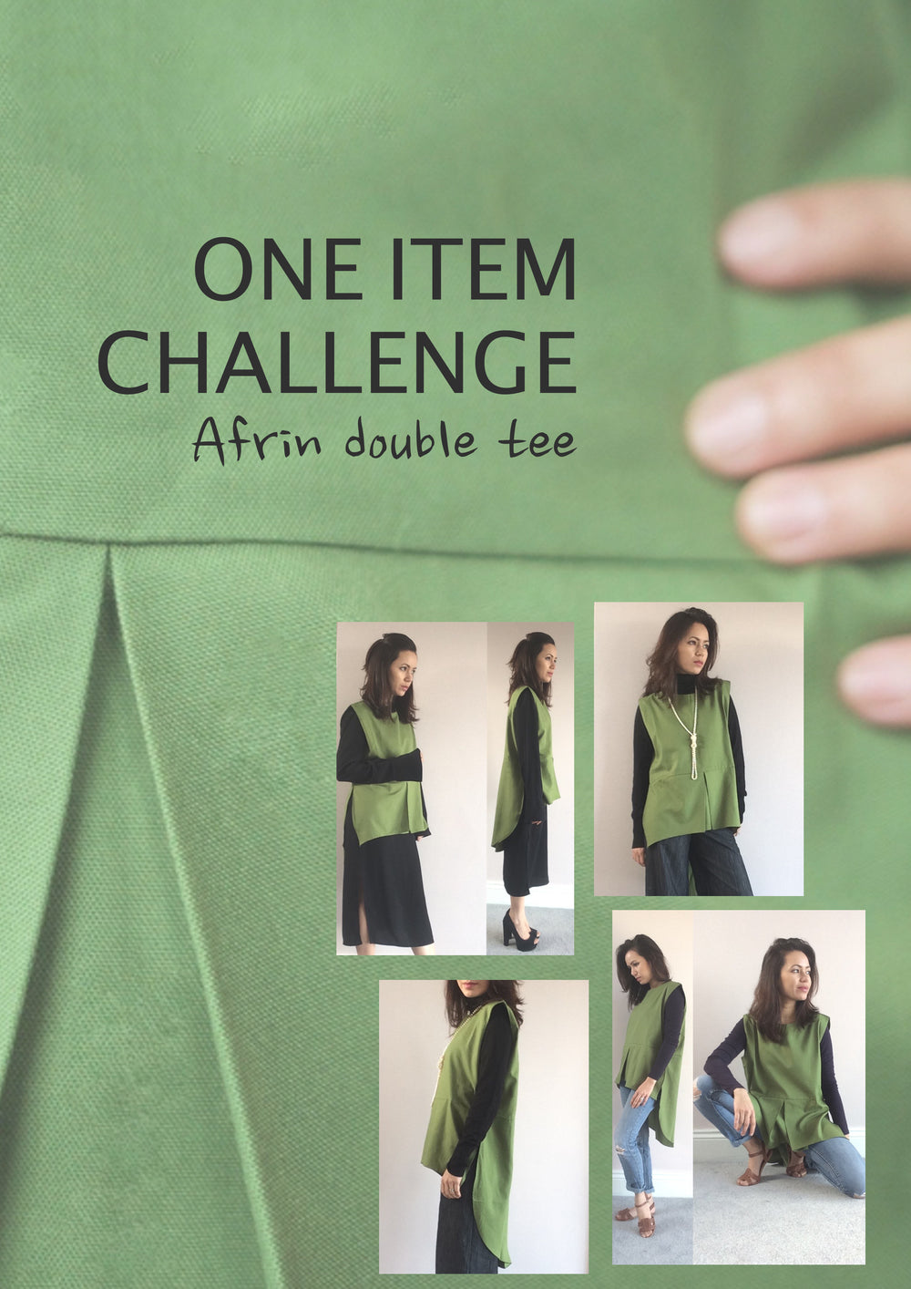 One item challenge - Afrin double tee