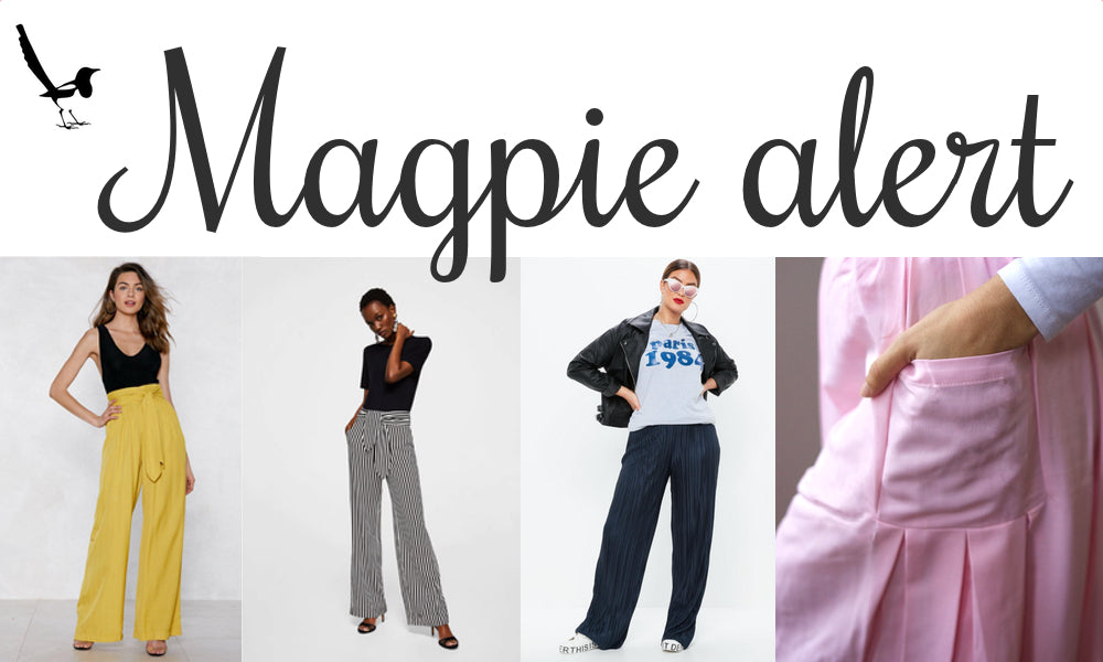 Magpie alert - The wide-legged trousers edition
