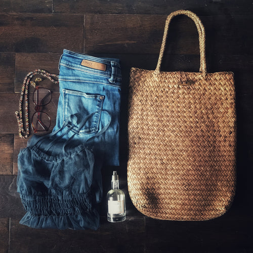 June straw bag