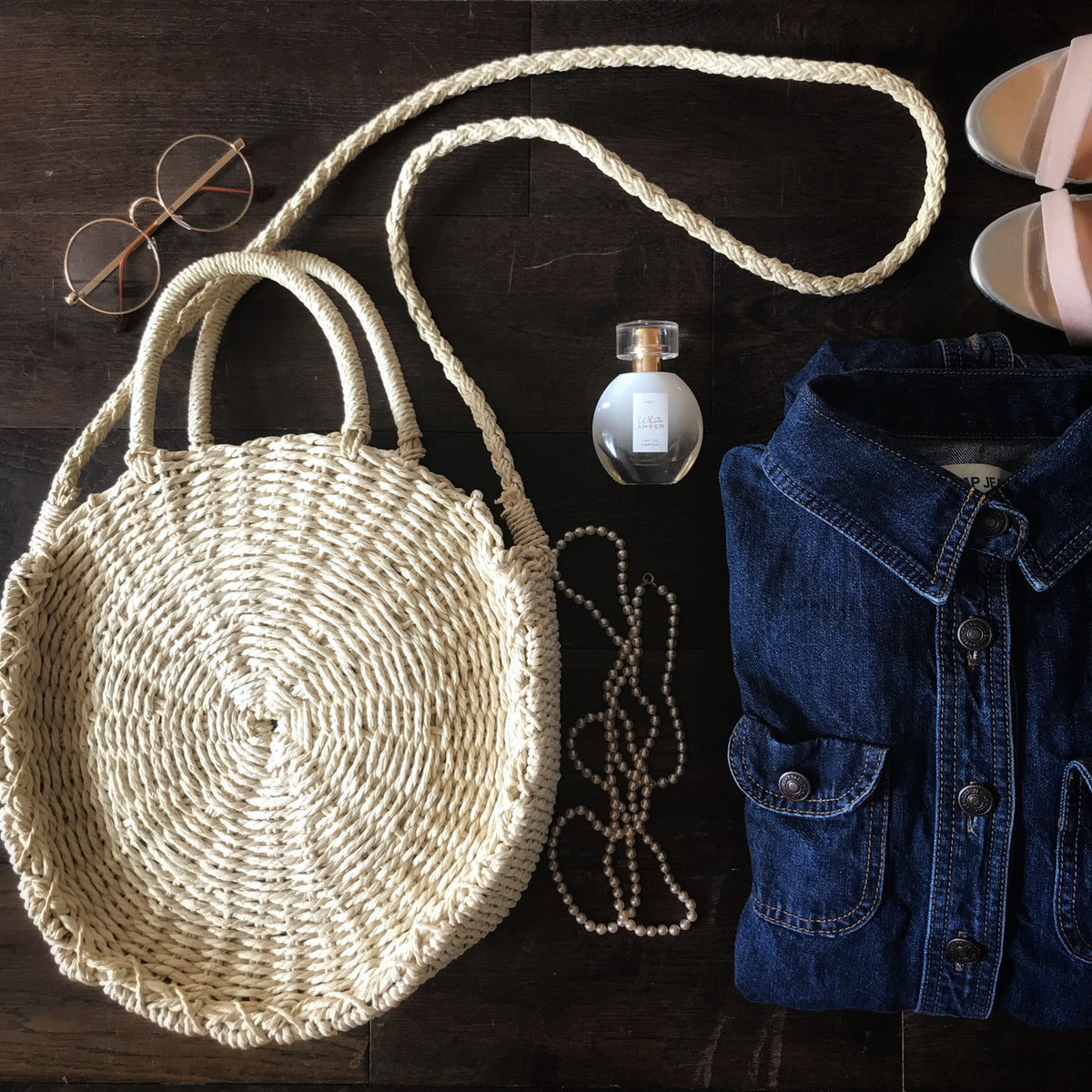 Tallulah straw bag