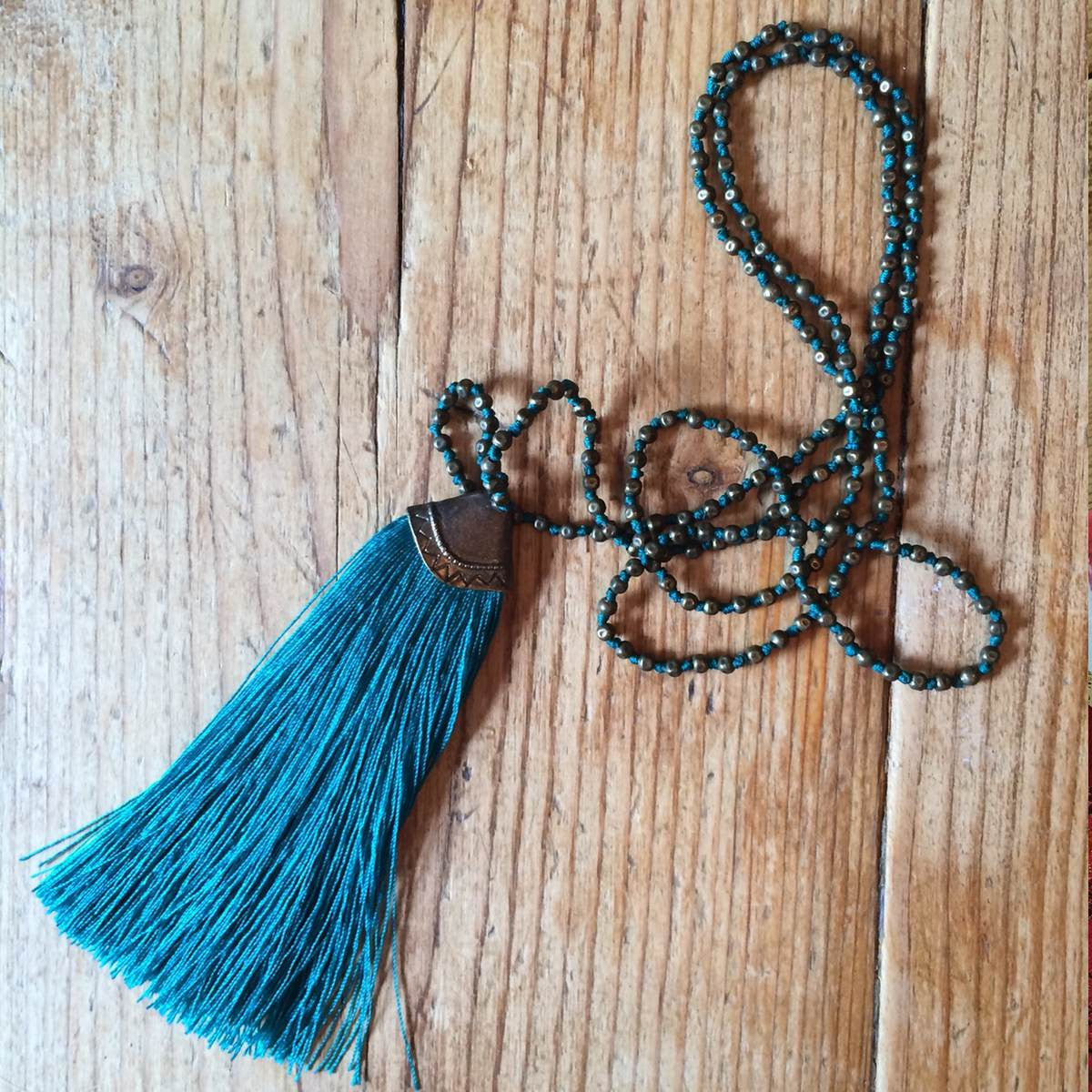 Cengkeh tassel necklace