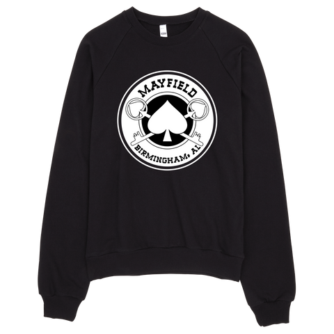 MM Logo Crewneck Sweatshirt (Black)