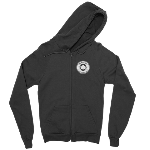MM Logo Full Zip Sweatshirt (Black)
