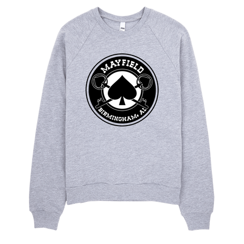 MM Logo Crewneck Sweatshirt (Gray)