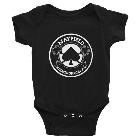 MM Logo Onesie (Black)