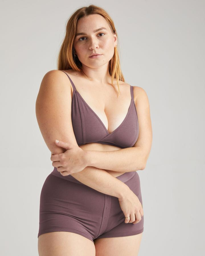 Richer Poorer Plum Smoke Classic Bralette