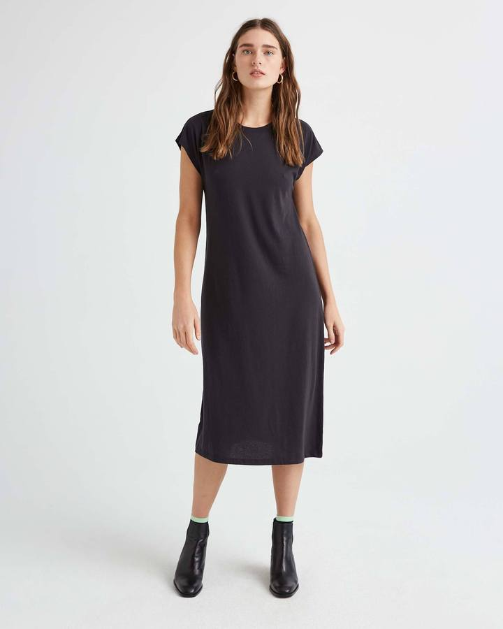 Richer Poorer Black Easy Dress