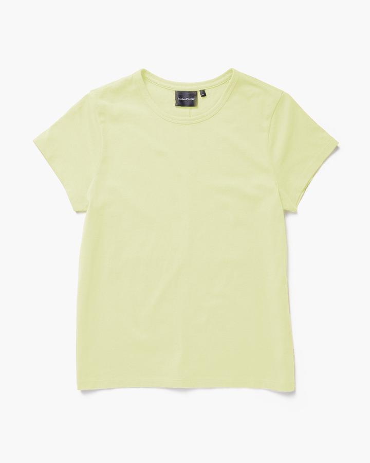 Richer Poorer Pale Green Classic Tee