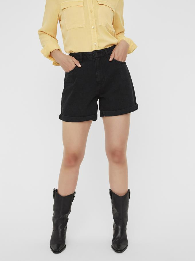 Vero Moda Nineteen Denim Black Shorts