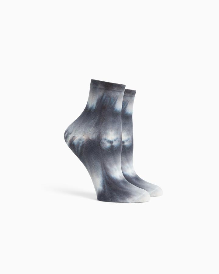 Richer Poorer Shibori Blue Mirage Socks