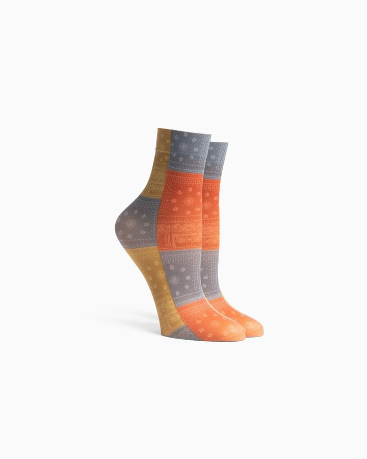 Richer Poorer Bandana Multi Socks