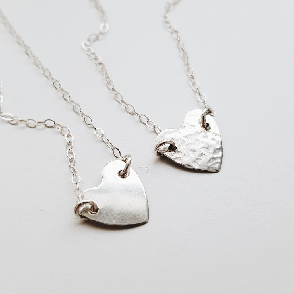 MiskWill Silver Heart Necklace