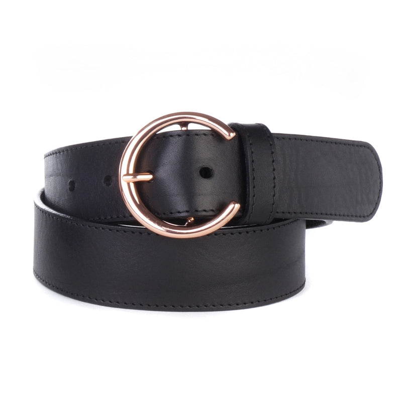 Brave Leather Caprina Circular Buckle Belt