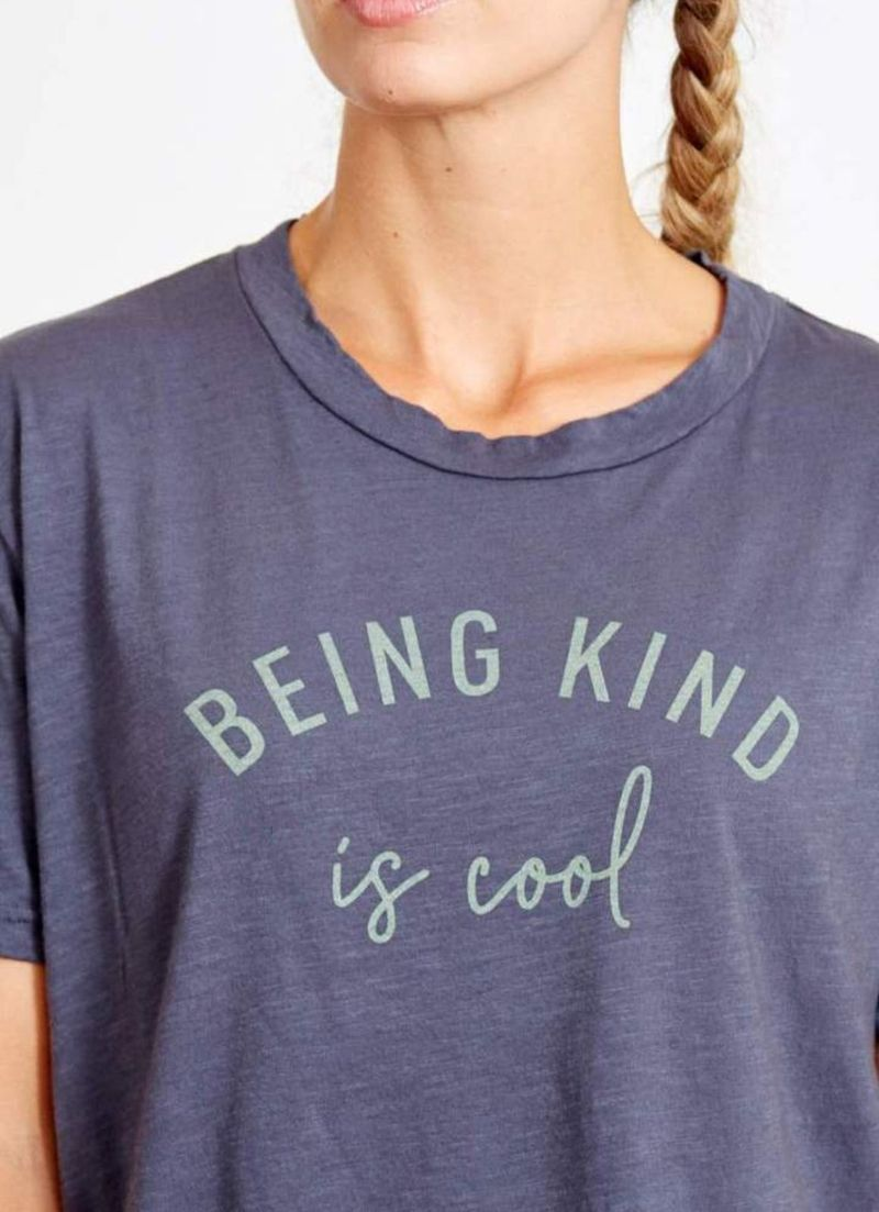 goodhYOUman Finny Being Kind is Cool Tee