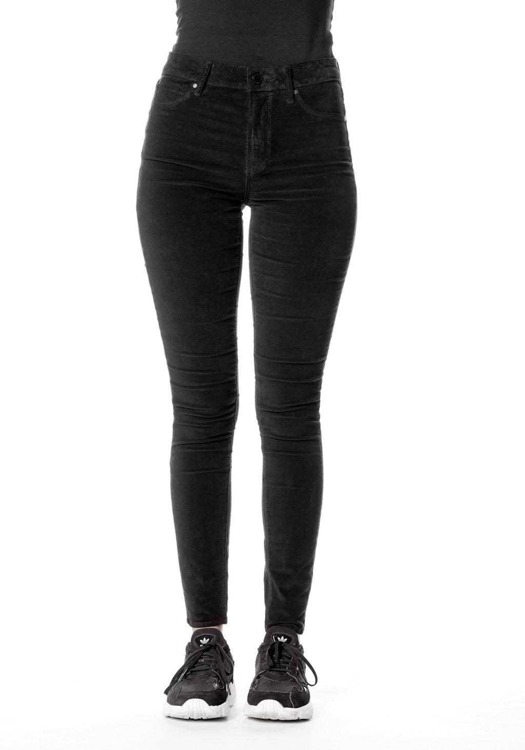 Articles of Society Black Velvet Hilary Jeans