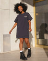 "Brunette the Label The ""BABES CLUB"" Boxy Tee Dress 