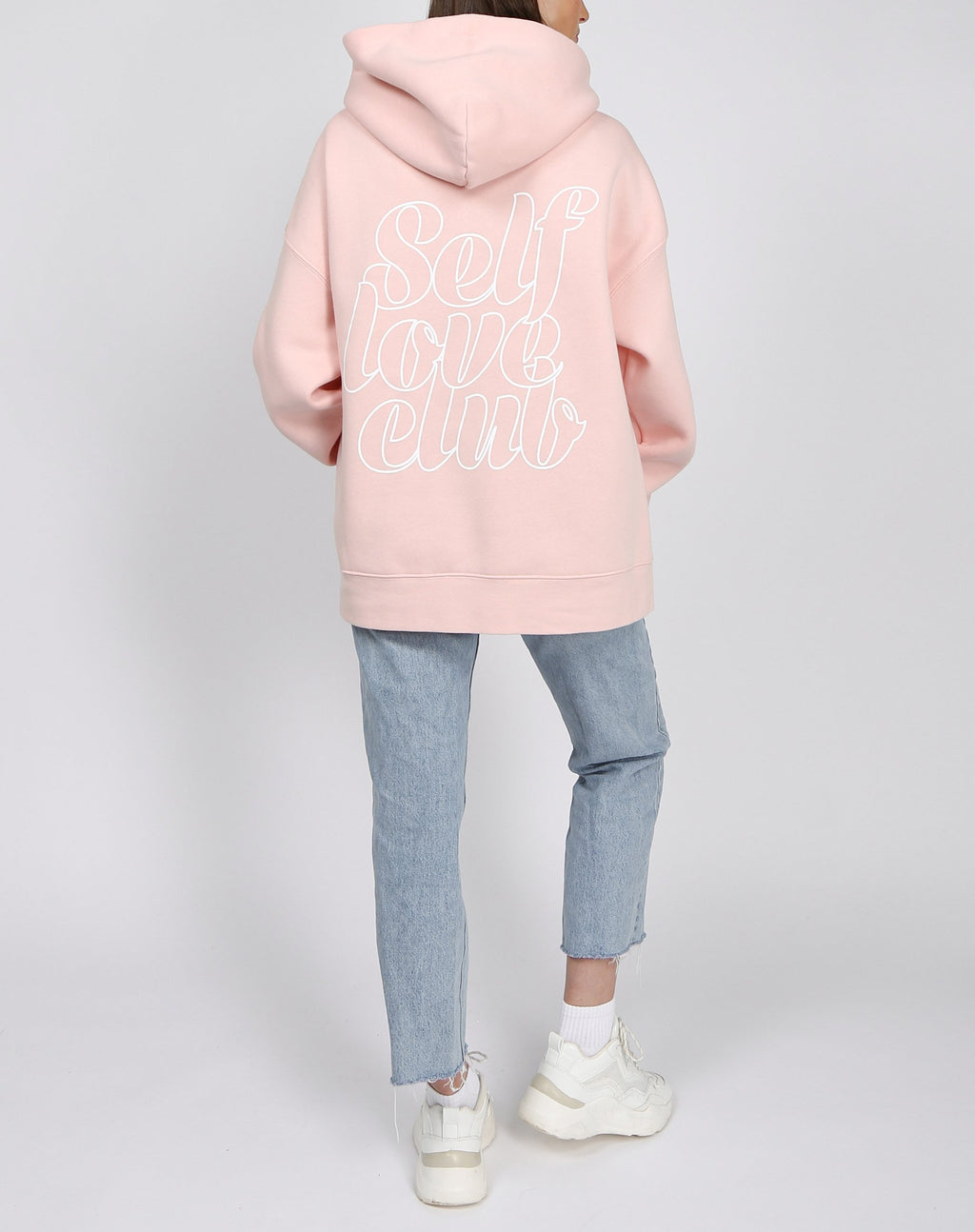 "Brunette the Label The ""SELF LOVE CLUB"" Big Sister Hoodie 