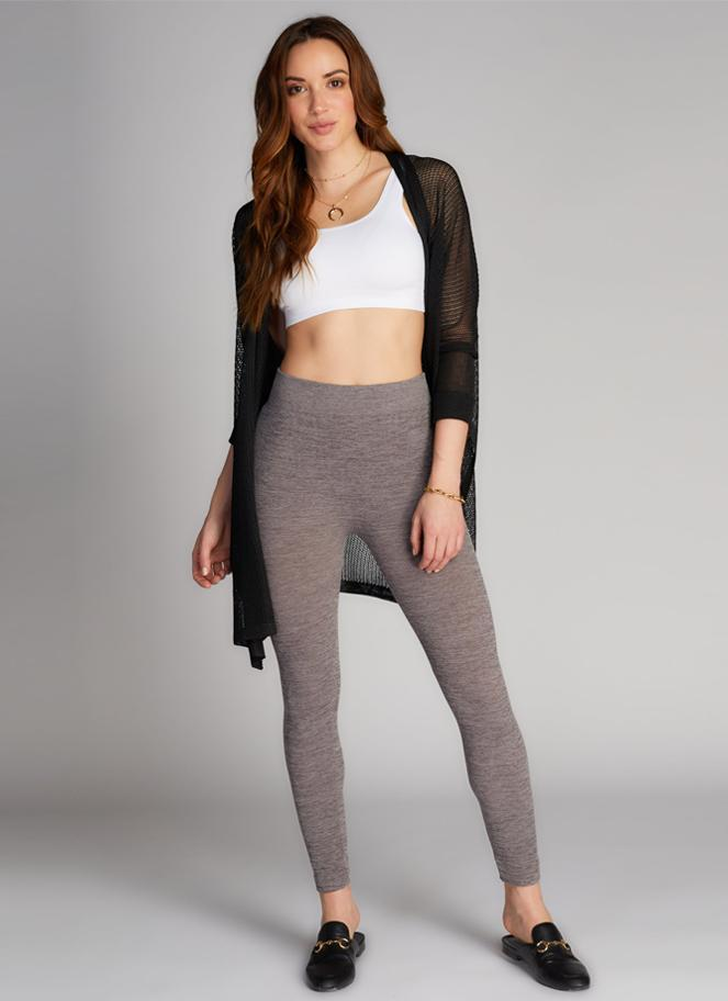C'est Moi Fleece Lined Leggings
