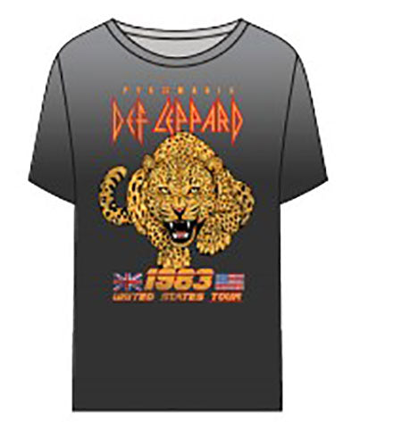 Chaser Def Leppard United States Tour Tee