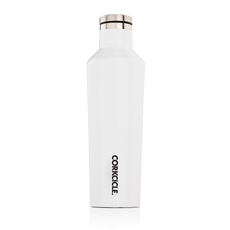 Corkcicle 25oz Gloss White Canteen
