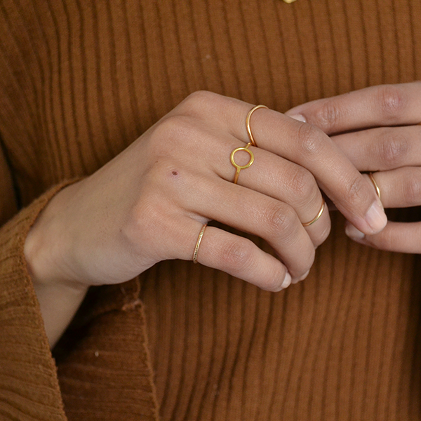 Kara Yoo Celina Ring Gold