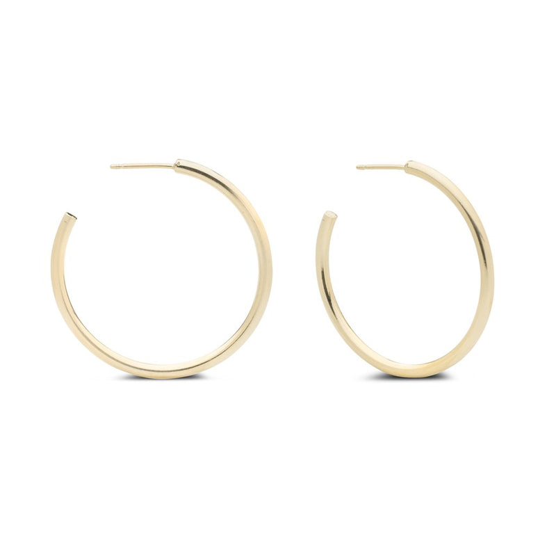Kara Yoo Arlo Large Gold Hoops