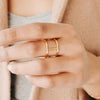 Kara Yoo Four Sisters Ring Gold