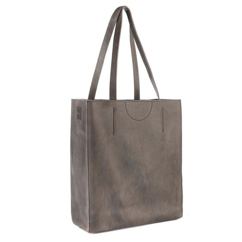 Brave Leather Giovana Tote in Nero
