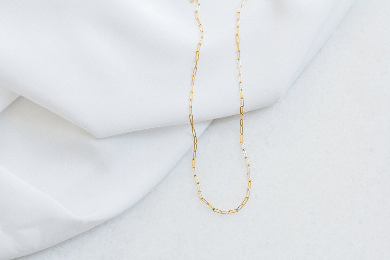 Lavender & Grace Sloan Chain Necklace