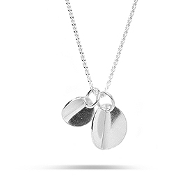 Kara Yoo Silver Claira Duo Necklace