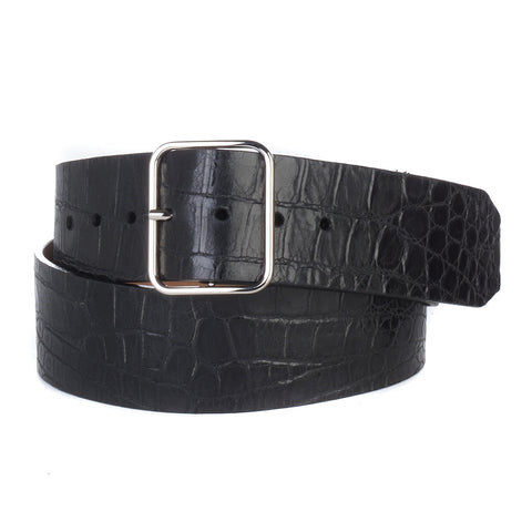 Brave Leather Lule Laser Cut Belt