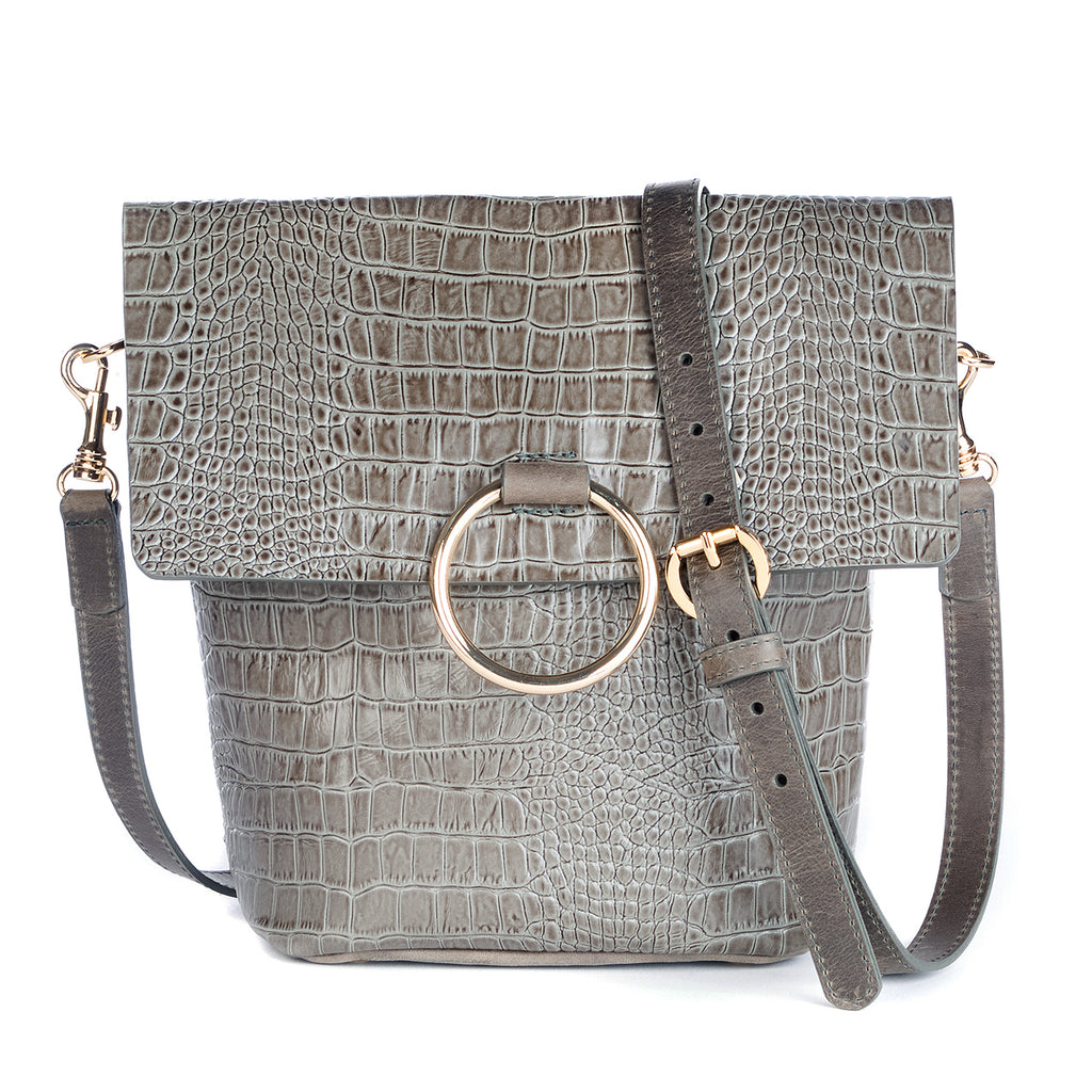 Brave Leather Virtue Bag in Kale Barcelona