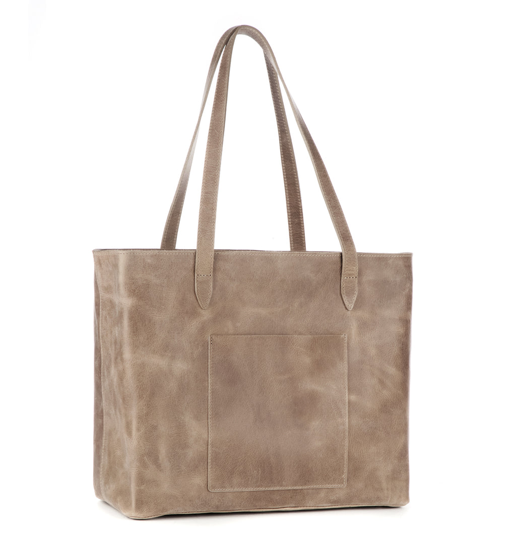 Brave Leather Hudson Tote in Mushroom