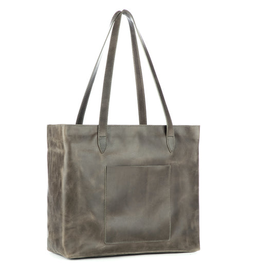 Brave Leather Hudson Tote in Newport