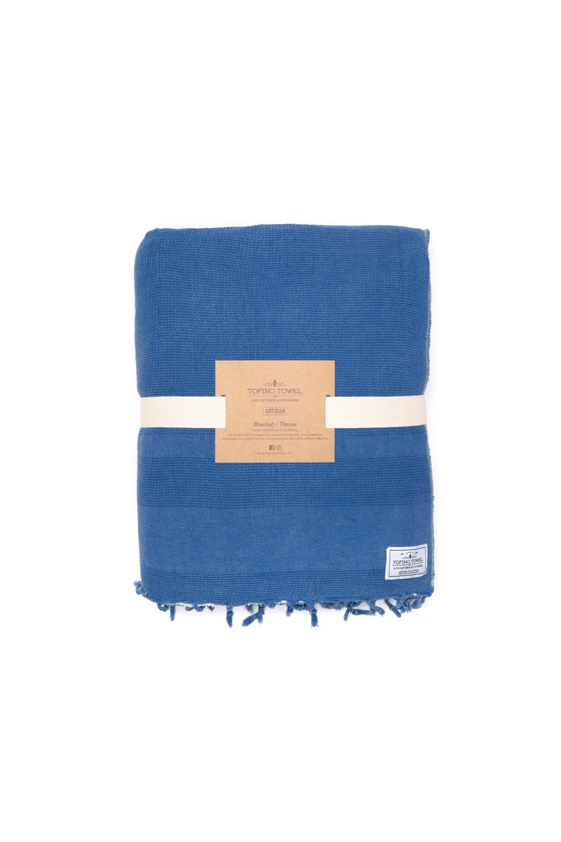 Tofino Towel Co. The Shore Washed Waffle Throw