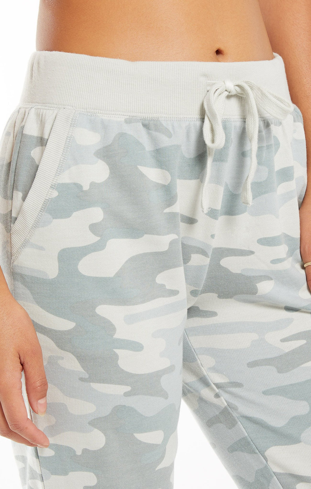 Z Supply The Camo Dusty Sage Pant
