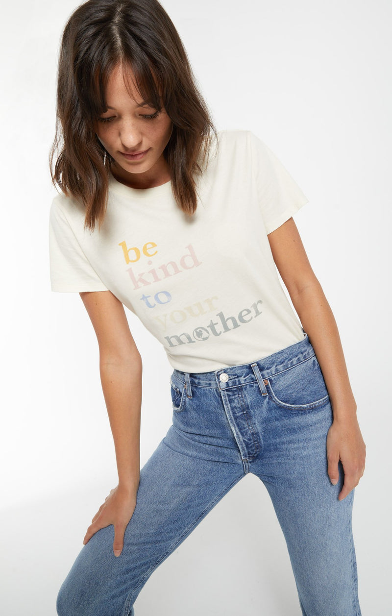 Z Supply Easy Be Kind Organic Tee
