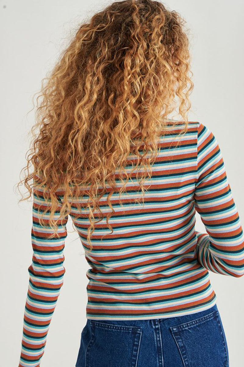 24Colours Striped Shirt