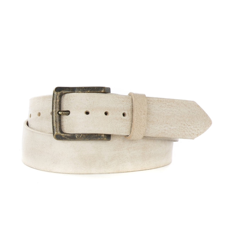 Brave Leather Bone Acer Belt