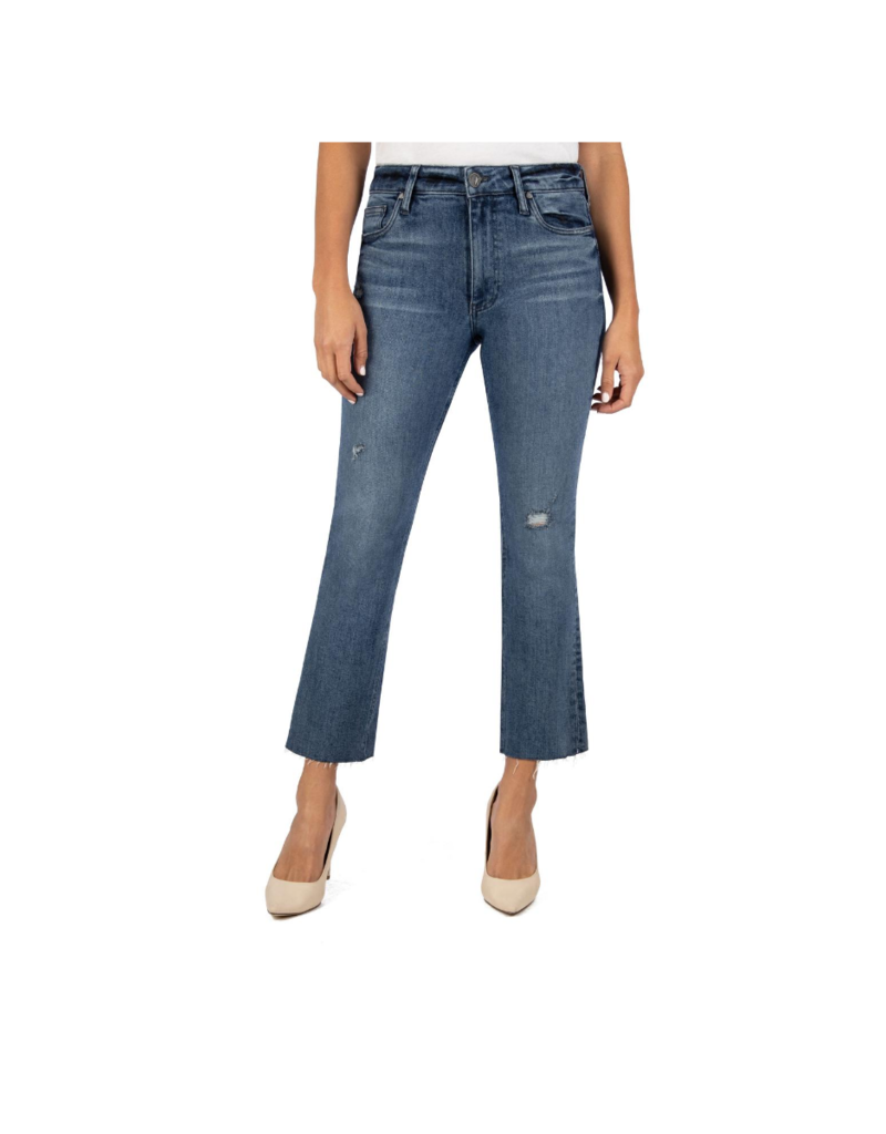 Kut from the Kloth Kelsey Denim Flare Jeans