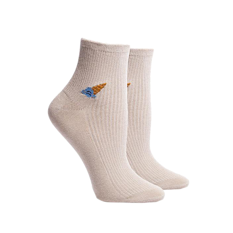 Richer Poorer Coney Oatmeal Socks